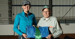 Sponsor prizes at the Spring Fling QH Shows!